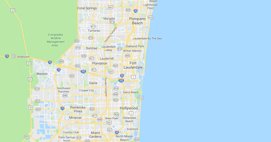 Map Of Broward County Florida.Map And Area Information Capital Commercial Real Estate Group Inc